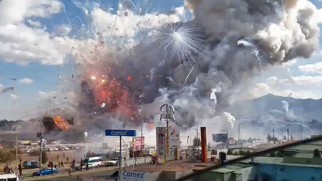 Fireworks Rip through Workshop in Mexico's 'Pyrotechnical Capital', 24 Killed, Scores Injured