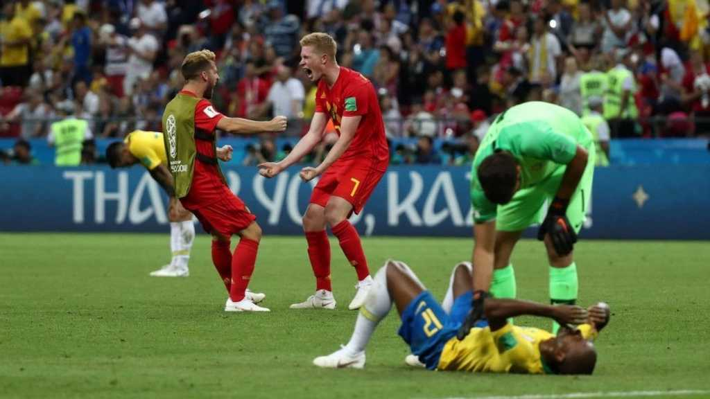 World Cup 2018: Tears & Cheers As Brazil Loses to Belgium in Quarter-Final