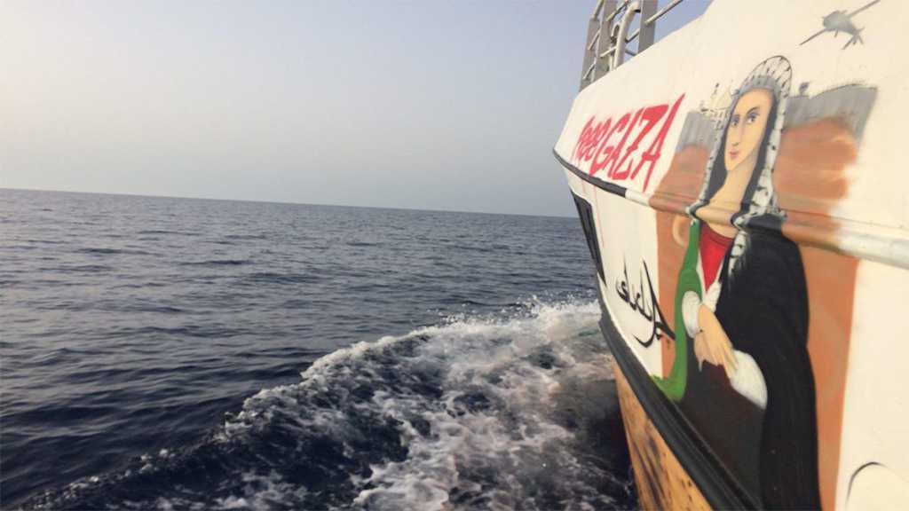 """Israel"" Stops Gaza's Humanitarian Flotilla Vessel"
