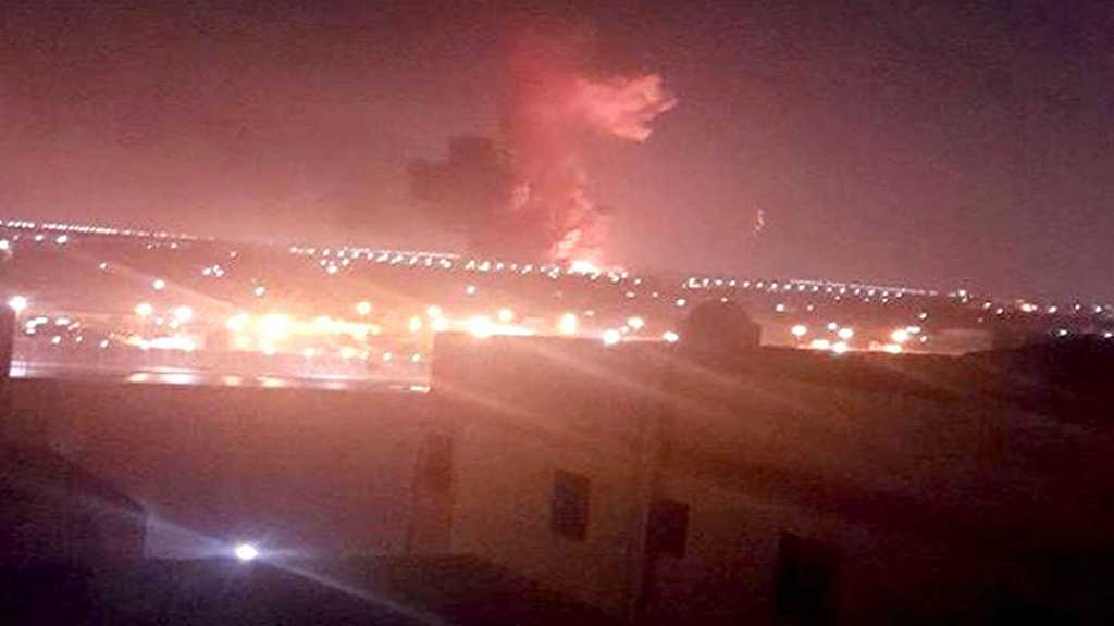 Explosion Sets off Fire outside Egypt's Cairo Airport