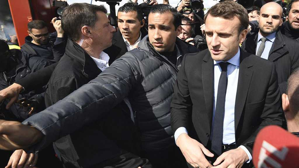 France: Macron's Security Aide Filmed Hitting Street Protester Placed in Custody