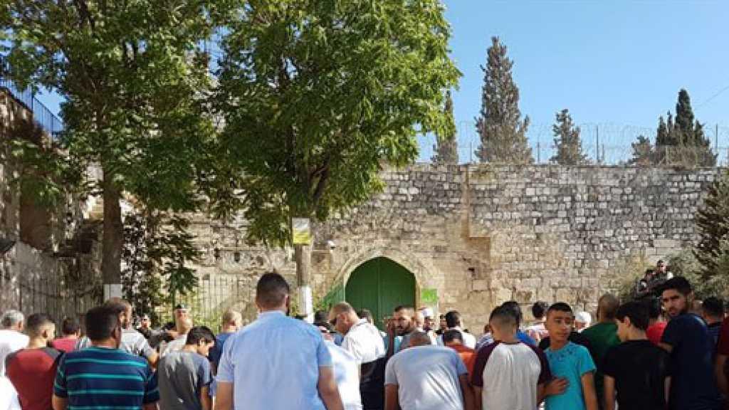 """""""Israeli"""" Forces Storm Al-Aqsa, Attack Worshippers"""