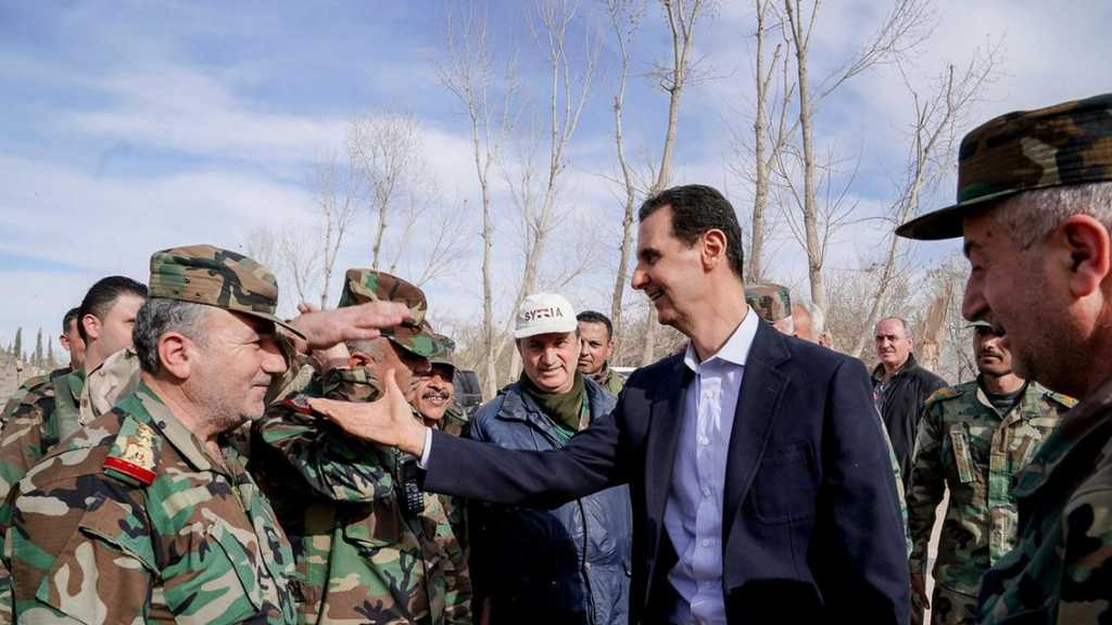 President Al-Assad: Syrian Army an Example to Follow in Nationalism, Sacrifice