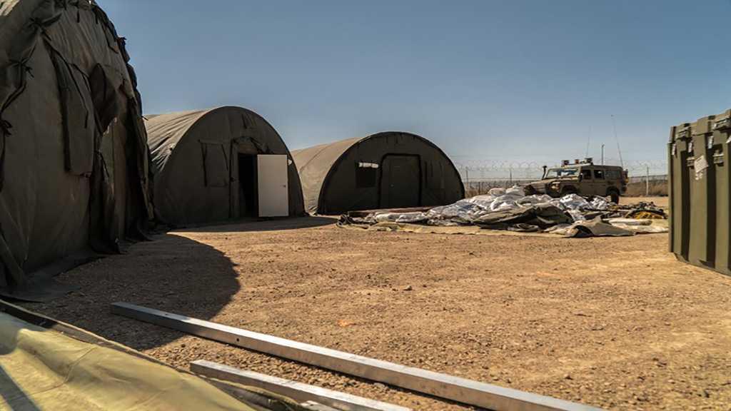«Israel» Dismantles Field Hospital Treating Terrorists in Golan