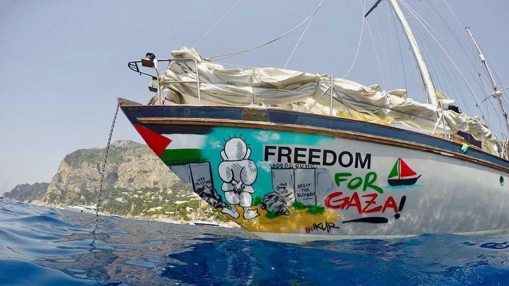 «Israel» Seizes Second Gaza-Bound Flotilla Boat