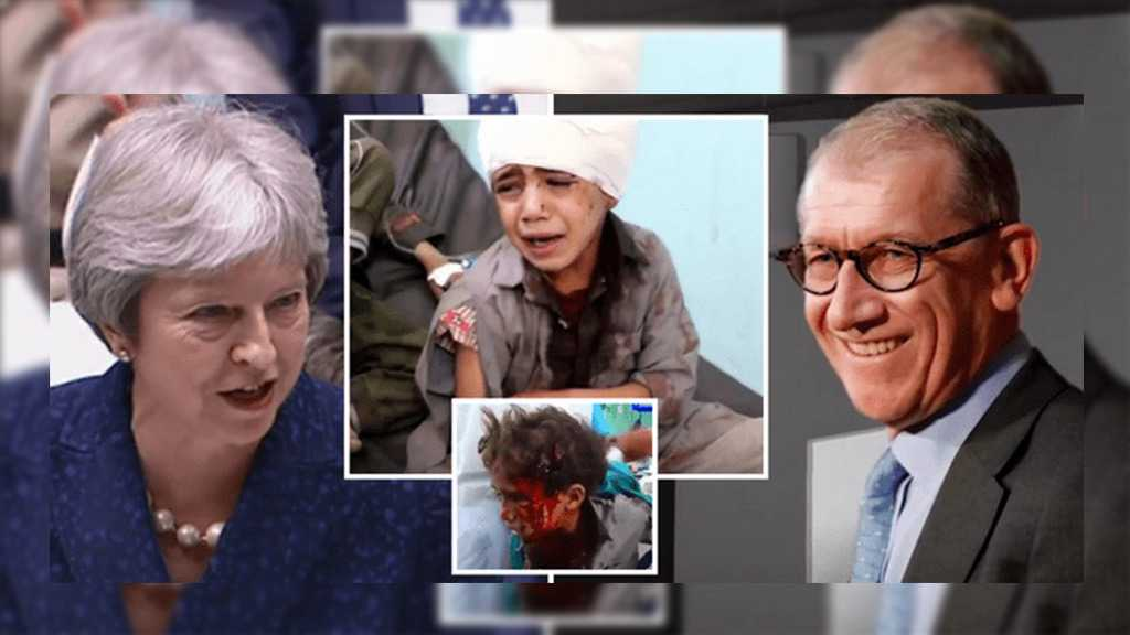 May's Husband's Firm Profited from Saudi School Bus Massacre in Yemen
