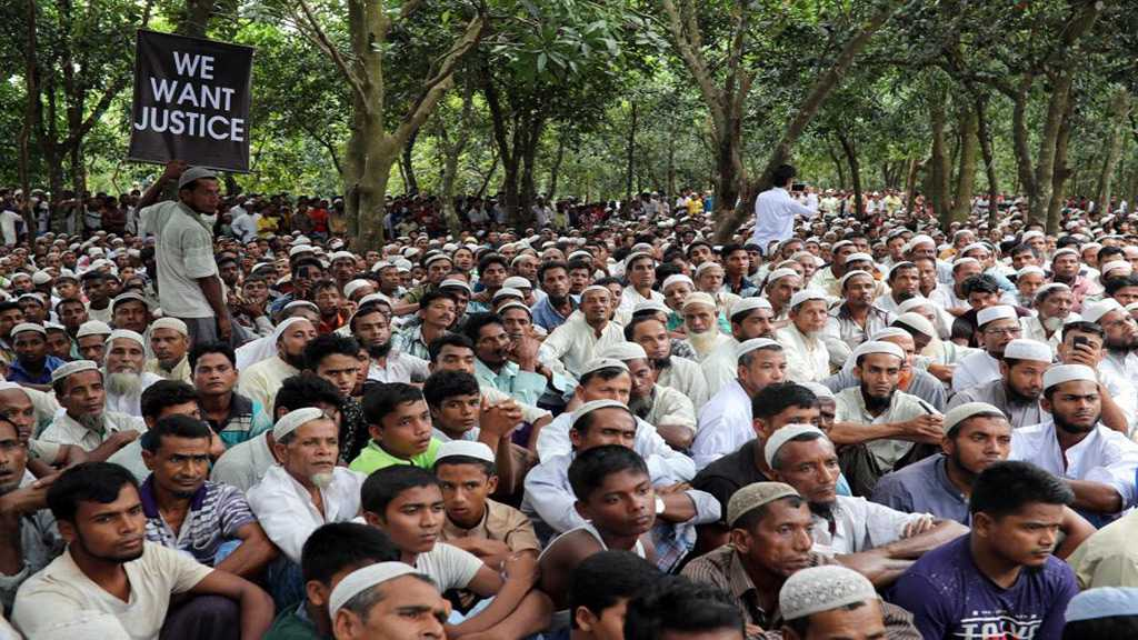 Rohingya Protest for Justice