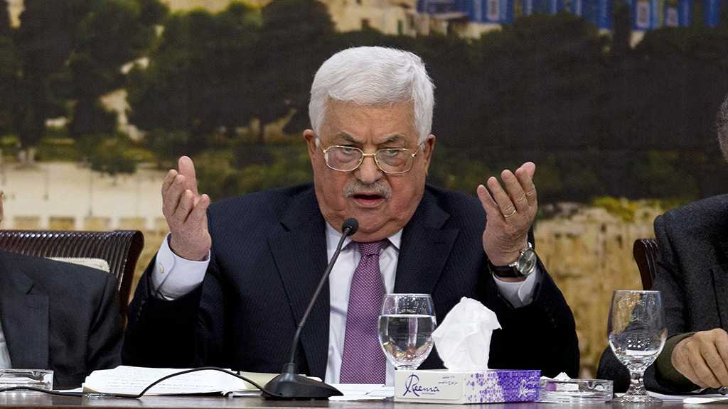 PA President Abbas: «Israel», US Working Against Peace