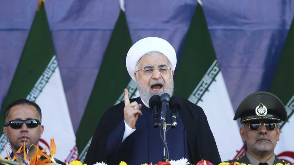 Rouhani: Iran Ready to Confront US, Small Mercenary States