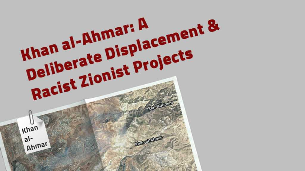 Khan al-Ahmar: A Deliberate Displacement & Racist Zionist Projects