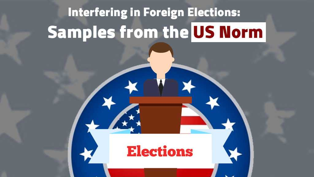 Sample of the US Meddling in Foreign Elections