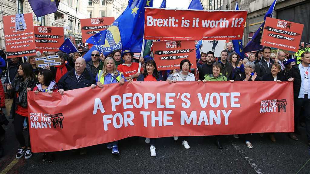 Over 100k Protesters to Participate in Anti-Brexit Demonstration in London