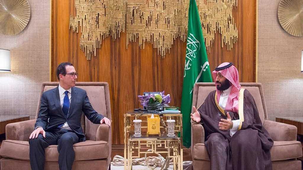 Money Talks: US Treasury Secretary meets MBS amid Khashoggi Outrage