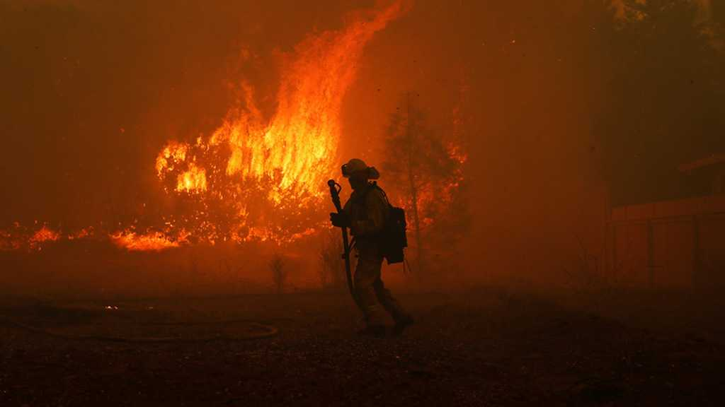 Infernal Wildfire Visible From Space Sends California Residents Fleeing