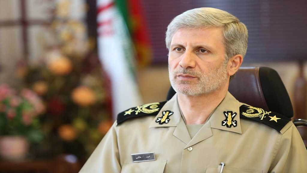 Iran's Defense Minister Hatami: We Will Rapidly Overcome Sanctions