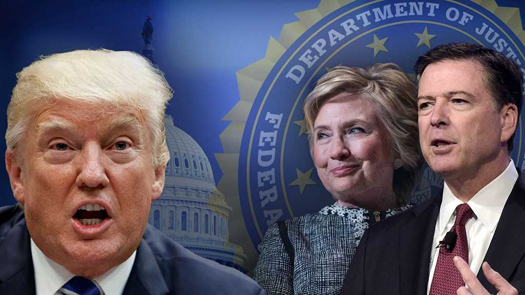 Report: Trump Wanted Prosecutions of Hillary Clinton, Ex-FBI Chief