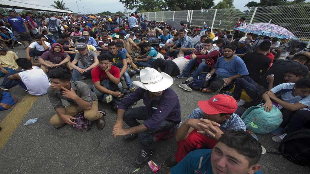 US Border Forces Flex Muscles: Migrants Defy Trump