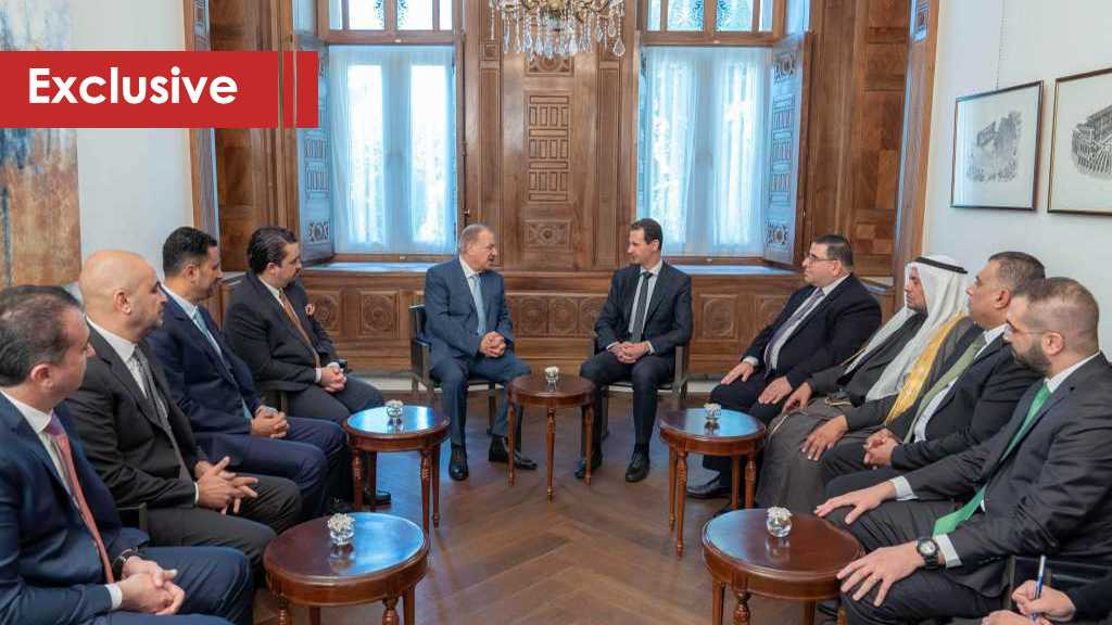 Al-Ahed's Sit-Down with the Jordanian Delegation in Syria, Assad Sends a Message to the King