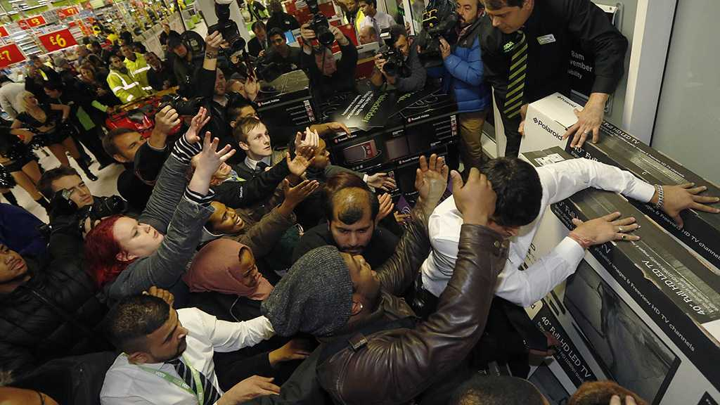 Black Friday Brings Out the Crazy Carnage Once Again