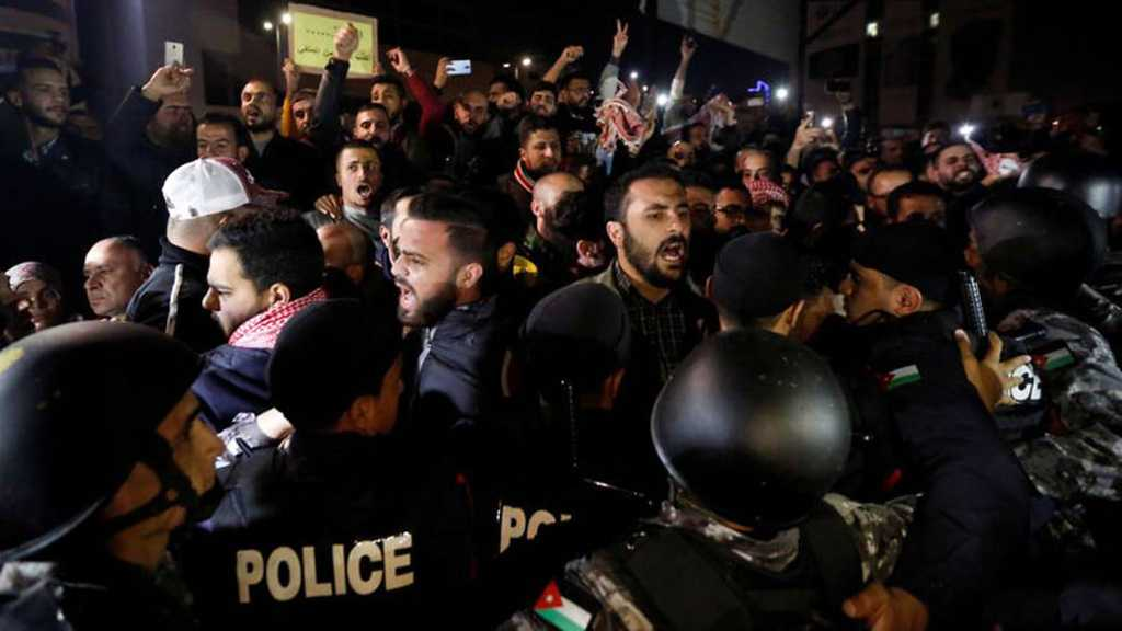 Again in Jordan: Hundreds Protest New Tax Bill