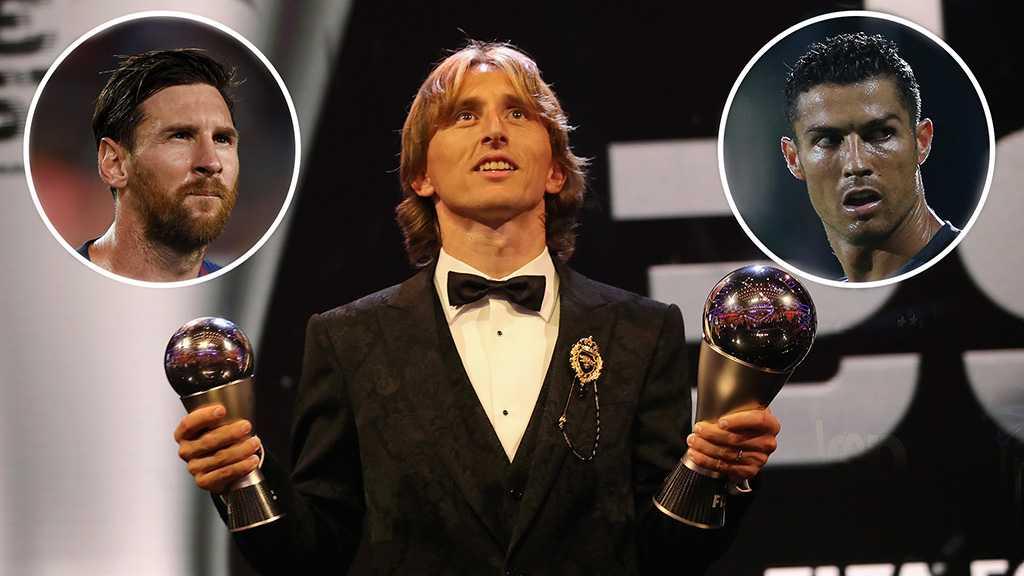 RM's Modric Wins 2018 Ballon d'Or, Breaks Messi-Ronaldo Dominance