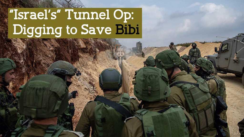 'Israel' Digging on Lebanon Border to Save Netanyahu