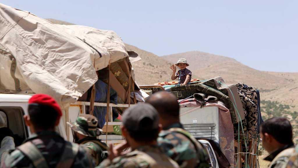 1,000 Syrian Refugees Return Home From Lebanon