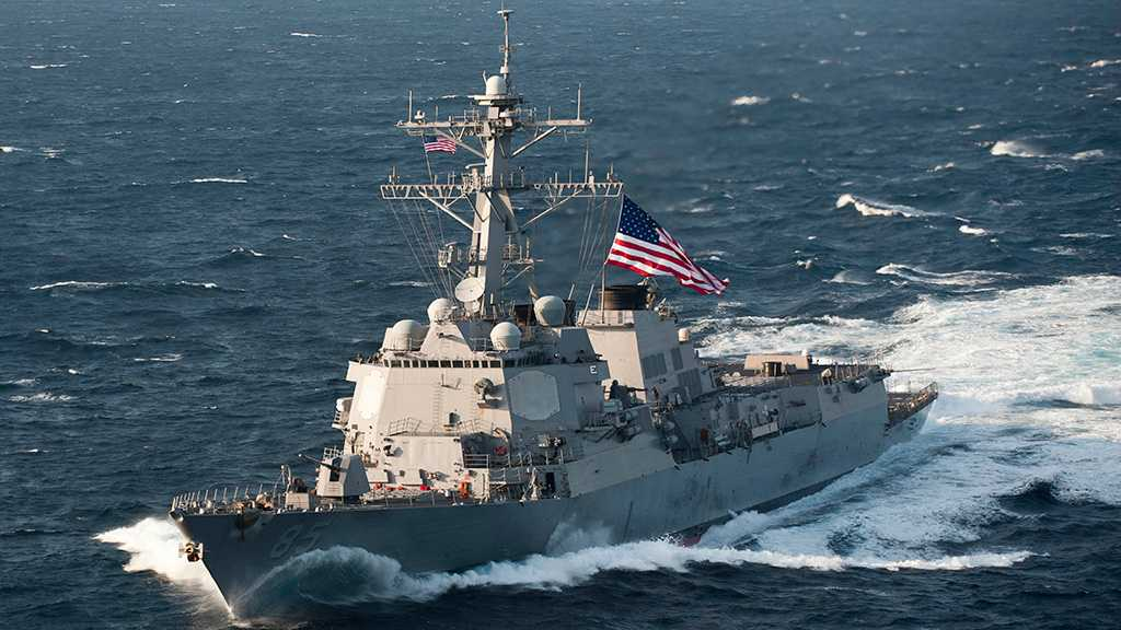 Russian MoD: Military Tracks US Destroyer in Sea of Japan