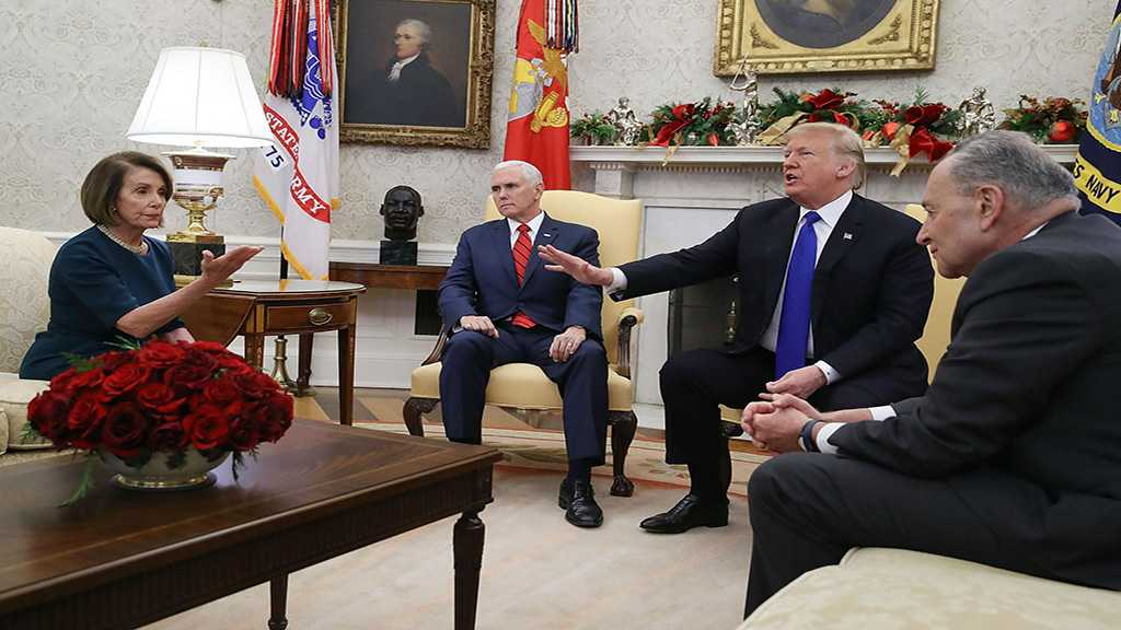 Trump Meeting With Pelosi & Schumer Descends Into Chaos