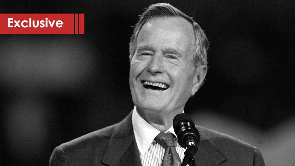 Remembering George H. W. Bush; the Warmongering Psychopath