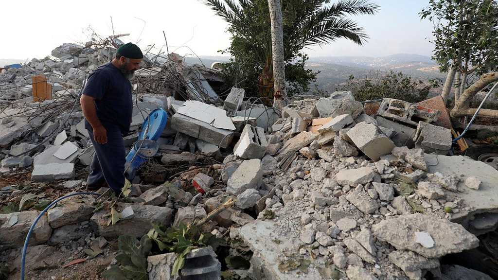 """""""Israel"""" Demolishes Home in West Bank"""