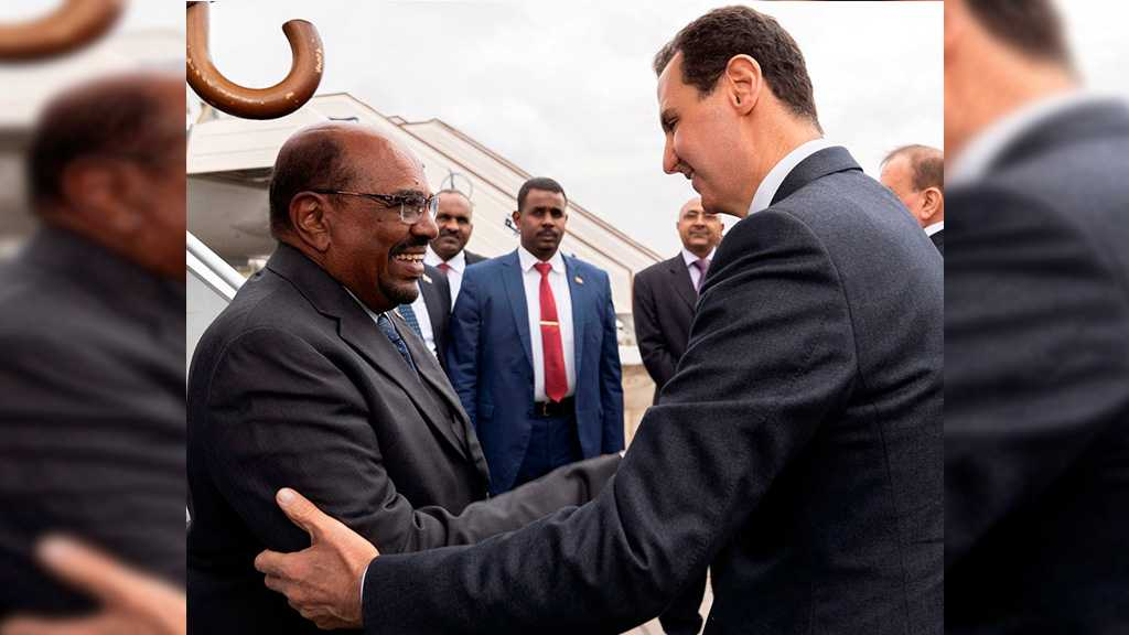 Sudan's Bashir First Arab President to Visit Syria's Assad