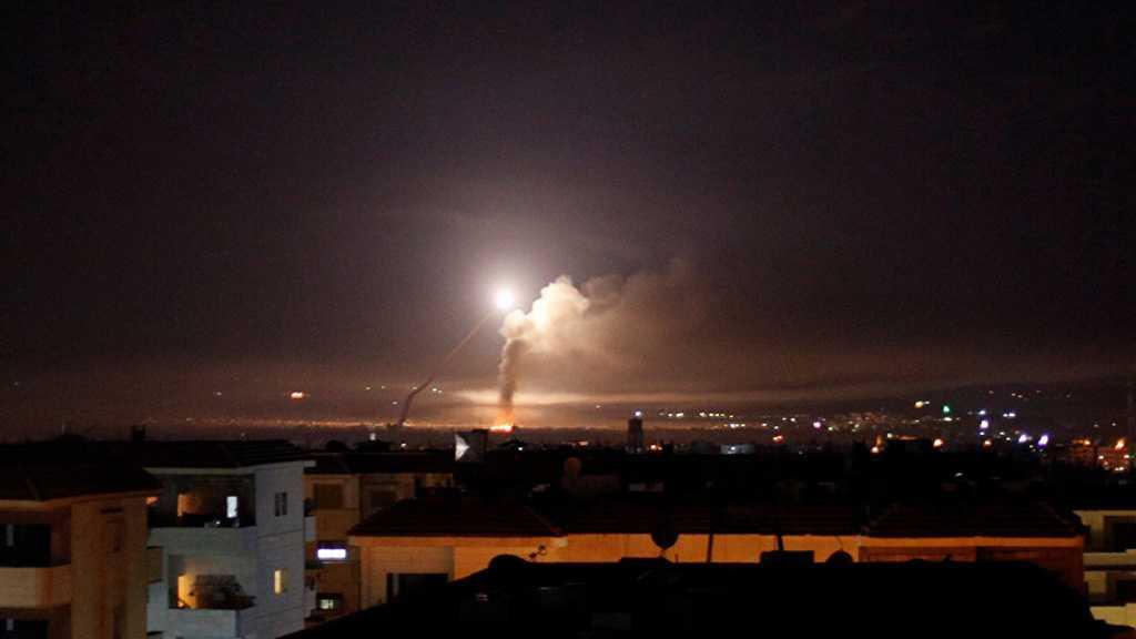 "Syria: Air Defenses Intercept, Down Hostile ""Israeli"" Missiles"