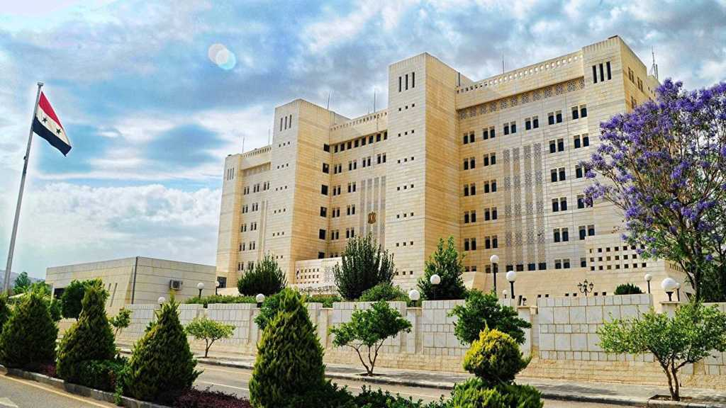 Syrian Foreign Ministry: «Israeli» Assault on Syria is Blatant Violation of UNSC Resolutions