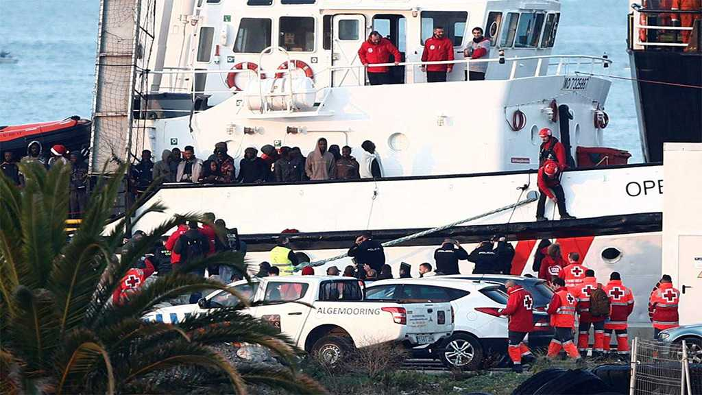Boat Carrying 300+ Migrants Rescued Off Libya Reaches Spain