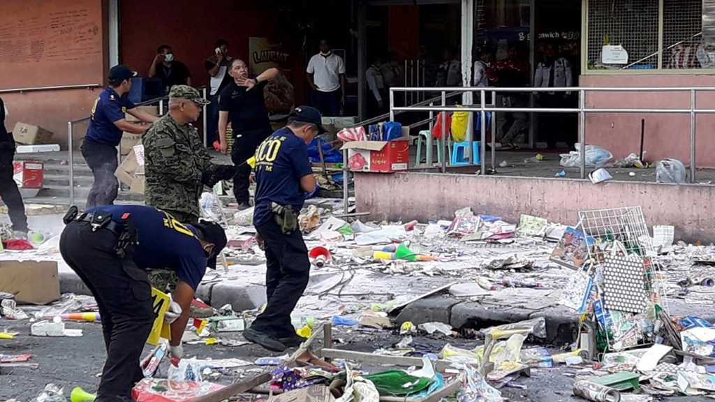 Philippine Explosion: Bomb Outside Shopping Center Kills 2, Wounds 28