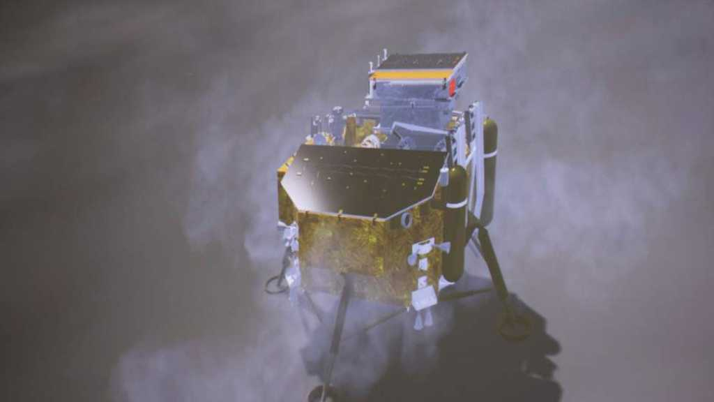 For 1st Time Ever, China Lands Spacecraft on Moon's Dark Side