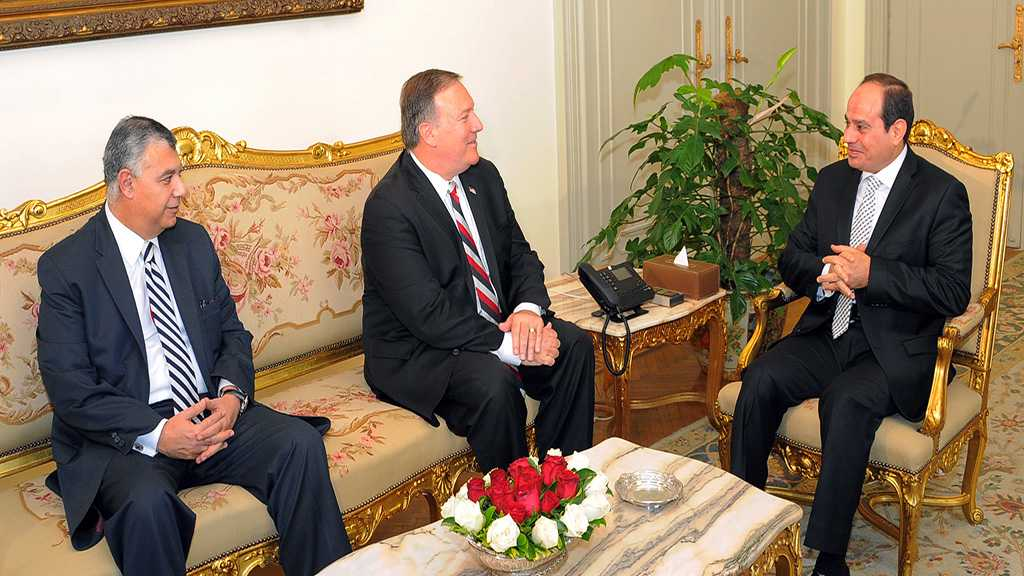 Pompeo Meets with Egyptian President