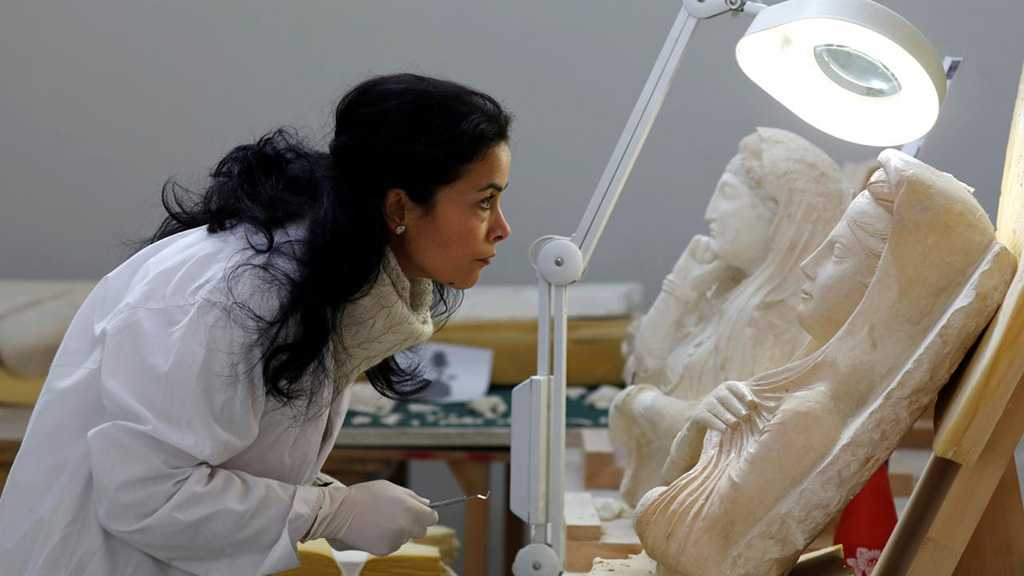 Archaeologists Restore Ancient Palmyra Artifacts in Damascus Museum