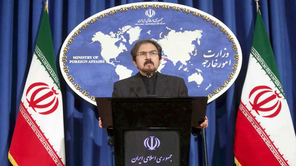 Iran's Qassemi: US Presence in Syria Had Been a Mistake since the Beginning