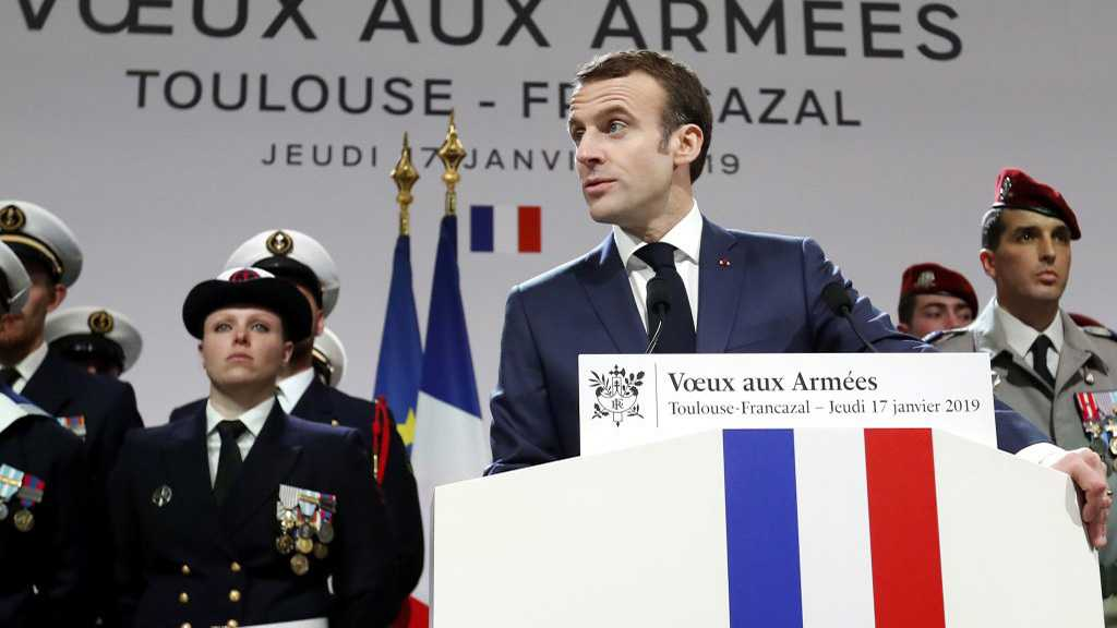 Macron: France Will Stay 'Militarily Engaged' in Mideast