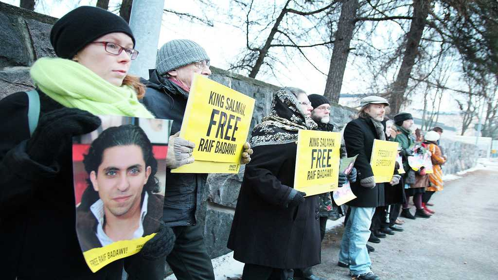 Canada Renews Calls for Raif Badawi's Release