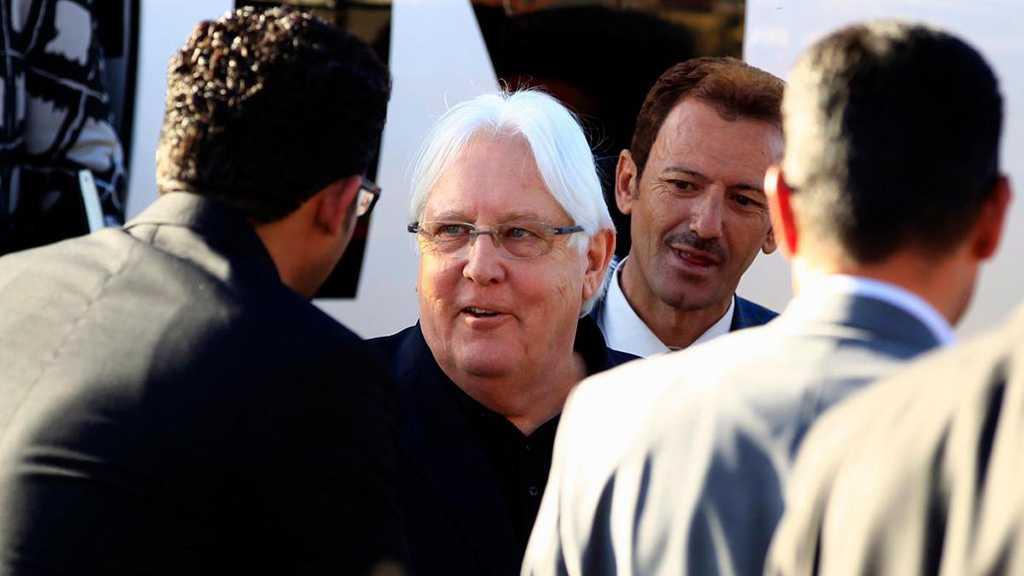 UN Envoy Griffiths in Yemen for Talks on Hudaydah Truce