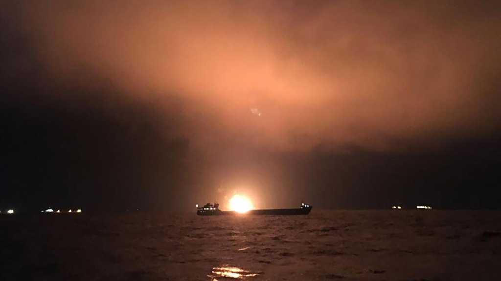 Crimea: Ships Catch Fire, 10 Killed, 14 Rescued