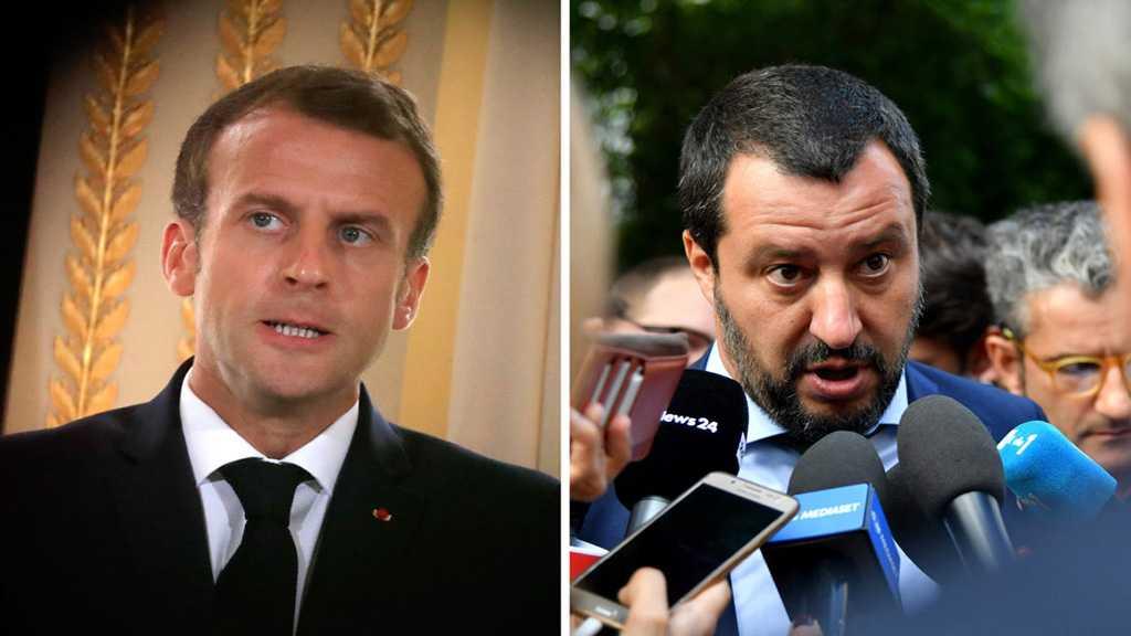 Italy's Deputy PM Hopes French Voters Won't Choose Macron's Party in EU Election