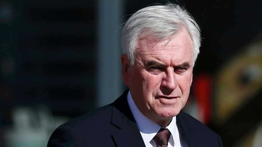 McDonnell: Labor Likely to Back Bid to Stop No-Deal Brexit
