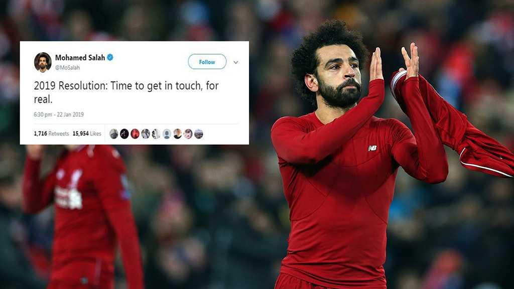 Fans Baffled as Liverpool Star Mohamed Salah Goes Offline