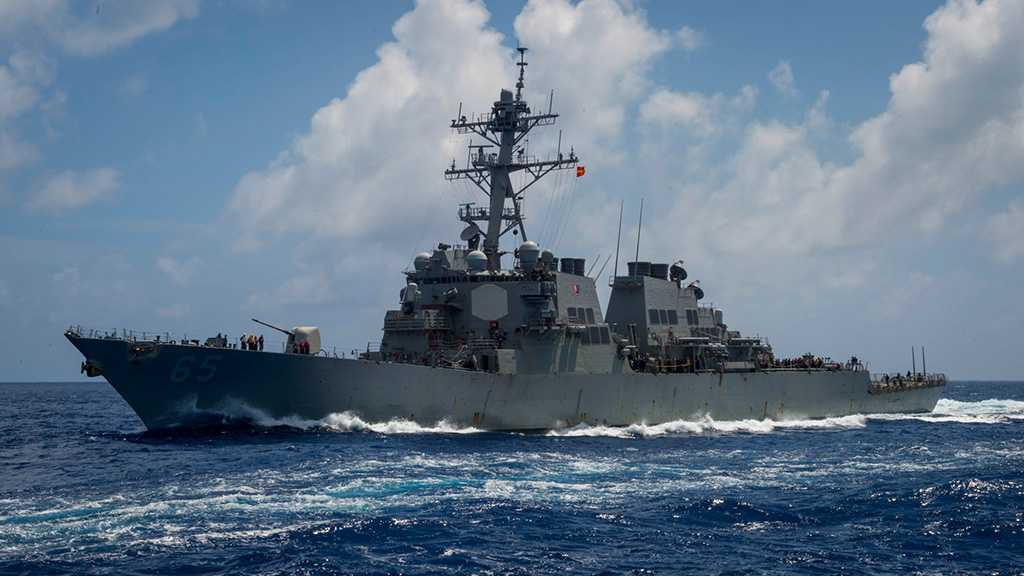 US Warships Sail through Taiwan Strait amid Tensions with China