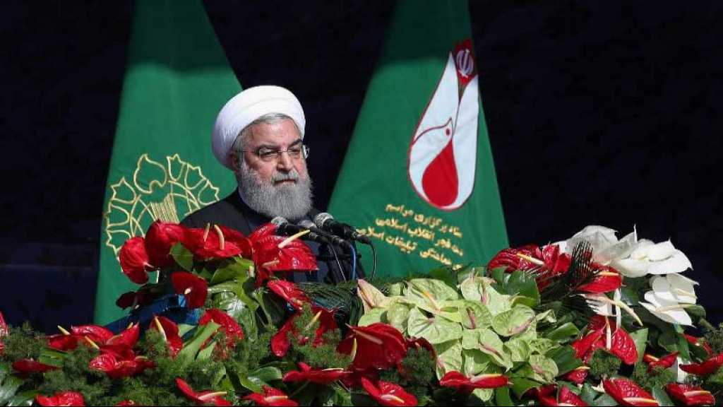 40 Years on Revolution, Rouhani: Iran to Continue Expanding Military Might, Missile Work