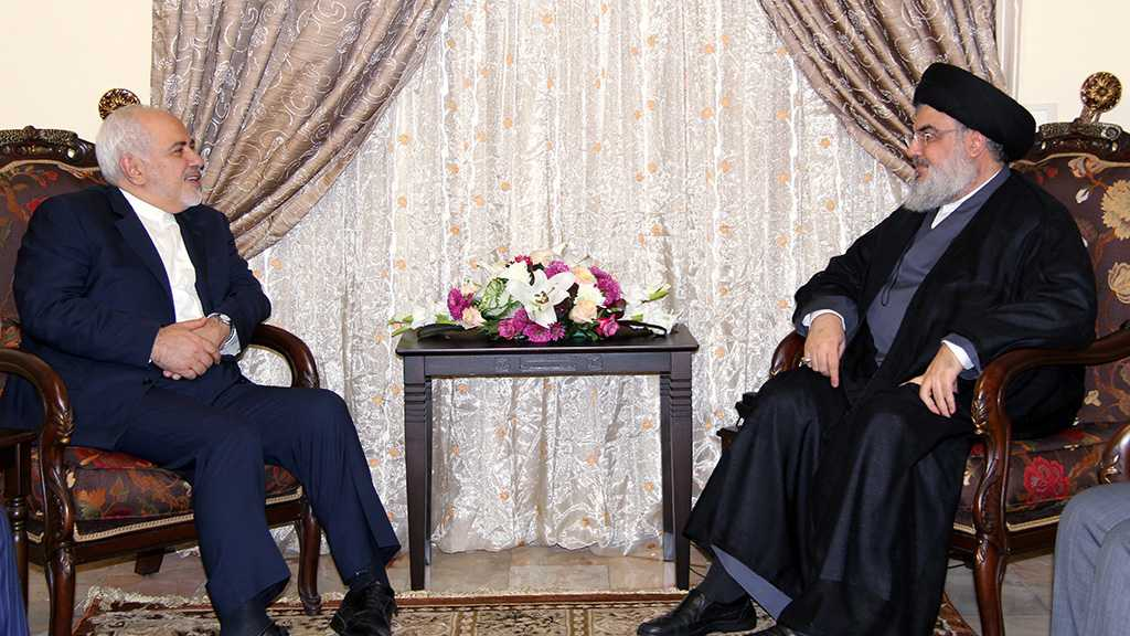 Zarif Visits Sayyed Nasrallah, Affirms Iran's Continued Support for Lebanon, Resistance
